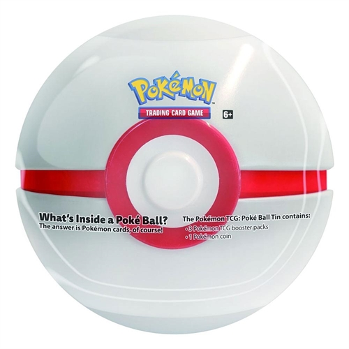 Tin PokeBall Premier ball - Pokemon kort